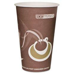 Eco-Products,Inc. Evolution World 24% Pcf Hot Drink Cups, 8 Oz., Peach, 1000/Carton Ecoepbrhc8Ew