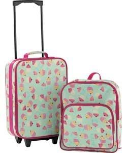 Children's Cupcake Luggage Set (BH685ID)