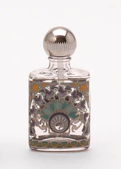 パース パフューム ボトル 平楕円 オリエント 1552 銀