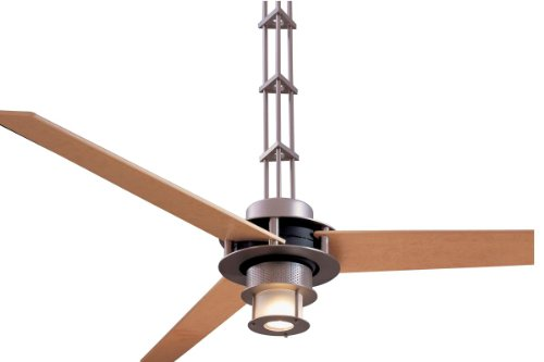 Minka Aire F529-L-BS/CH San Francisco 56 in. Indoor Ceiling Fan - Brushed Steel with Chrome