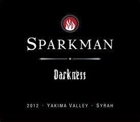 "2012 Sparkman Cellars ""Darkness"" Yakima Valley Syrah 750 Ml"
