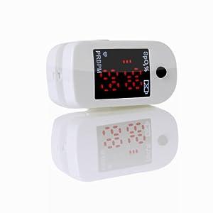 Octivetech 300c Finger Pulse Oximeter, Snow White