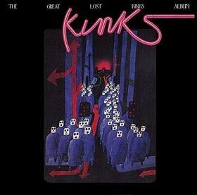 The Great Lost Kinks Album artwork