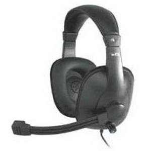 Cyber Acoustics Ac-960 Pro Grade W/Mic Headset-Over-The-Head-Black
