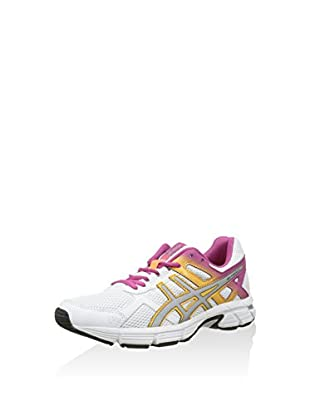 Asics Zapatillas Gel-Essent 2 (Blanco / Plata / Fucsia)