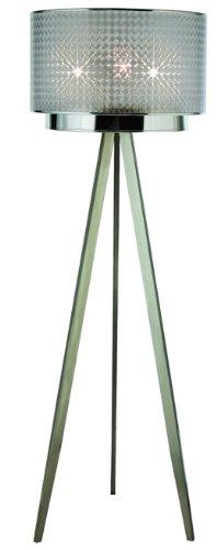 Trend Lighting Tf7766-S Paparazzi Floor Lamp, Brushed Nickel front-85221