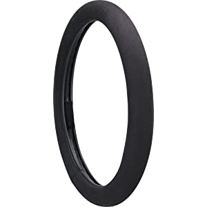 Ergo Grip Steering Wheel Cover, Black
