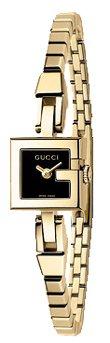 6edfe64a754 Gucci Gucci 102l Mini 18k Gold Plated Stainless Steel Womens Watch Ya102575  New
