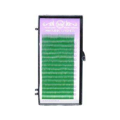 カラーエクステ シート グリーン Jカール 0.20mm サイズMIX