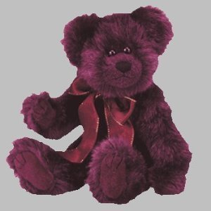 TY The Attic Treasures Collection - BEARGUNDY - the Bear - 1