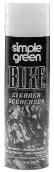 Simple Green Bike Cleaner 20oz. Aerosol . This is the best for cleaning your bike !!