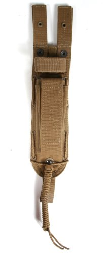 Spec-Ops Brand Combat Master Knife Sheath 6-Inch Blade (Coyote Brown, Short)