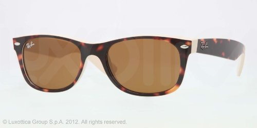 Ray-Ban NEW WAYFARER RB 2132 HAVANA 6012 Sunglasses 55mm