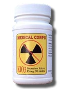 KIO3 Potassium Iodate, Anti-Radiation 90 Pills