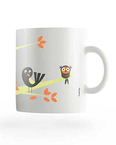 PosterGuy I Can Fly Motivational Birds White Ceramic Coffee Mug