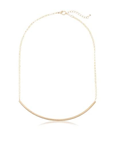 Jules Smith Thin Hollow Tube Necklace
