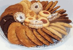 Mini Cookie Tray Assorted