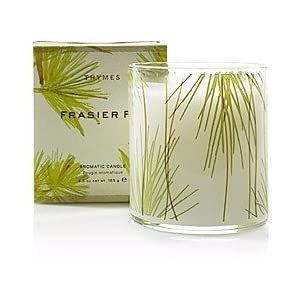 Thymes Poured Candle, Frasier Fir, 6.5-Ounce Jar