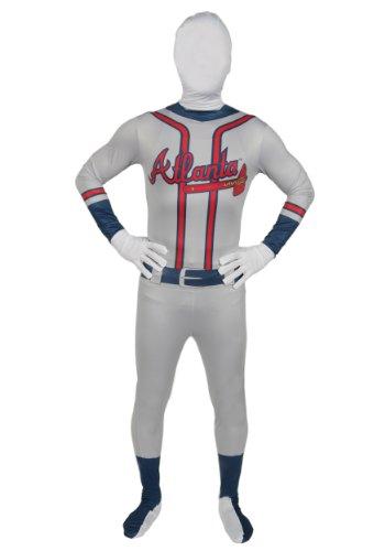 Adult Atlanta Braves Skin Suit (Standard)