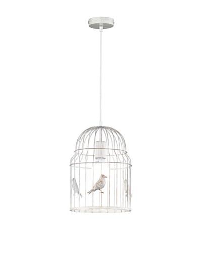 Trio Lighting Lámpara De Suspensión Vintage Cage
