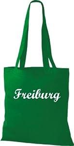 Shirtstown Stoffbeute City Stadt Shirt Freiburg Deine Stadt kult, Baumwolltasche Beutel Shopper Umhängetasche viele Farbe