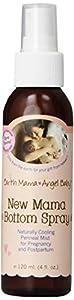 Earth Mama Angel Baby New Mama Bottom Spray, 4 Ounce Bottle