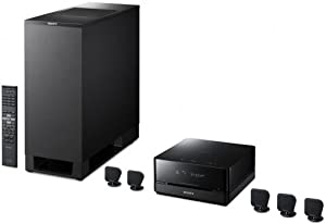 Sony DAV-IS10 5.1-Channel Micro Satellite Home Theater System with TDM-IP1 iPod Cradle
