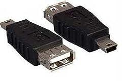 USB A Female to Mini USB B 5 Pin Male Adapter