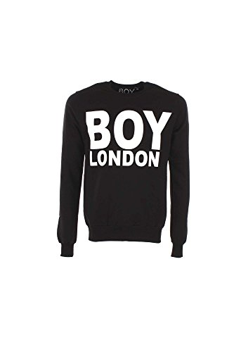 Boy London BL357 Felpa Uomo Nero S