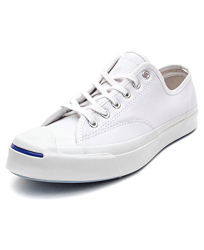 Converse Jack Purcell Signature Low Top Sneakers 147564C White 11.5 B(M) US Women 10 D(M) US Men (Converse Jack Purcell White compare prices)