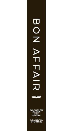 2012 Bon Affair Sauvignon Blanc Wine Spritzer 750 Ml