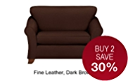 Abbey Loveseat - Leather