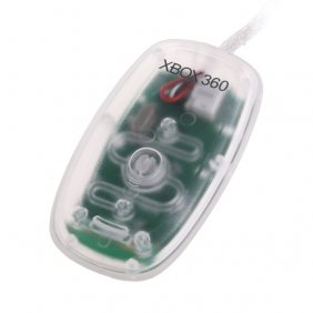 XBOX 360 PC Wireless Gaming Receiver Translucent Clear for Windows