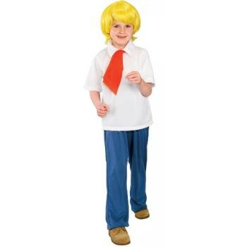 Big Boys' Fred Costume Small
