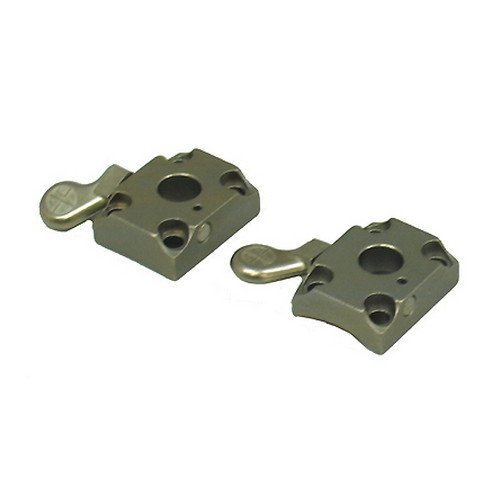 2 Piece Base Quick Release Browning X-Bolt Silver