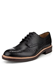 Savile Row Inspired Leather Goodyear Welted Brogues