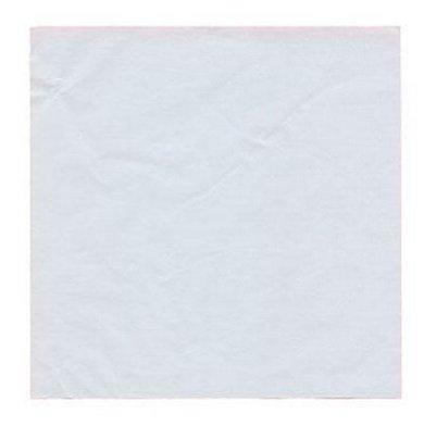 Moule en silicone Caissettes en aluminium 6X 15cm idéal pour cadeau Chocolat/Sweet, Lot de 125, blanc