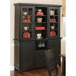 Cheap Buffet and Hutch in Ebony – Arts and Crafts – 5181-69-307 (5181-69-307)