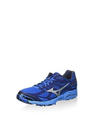 Mizuno Zapatillas de Running Wave Mujin 2 (Azul / Plata)