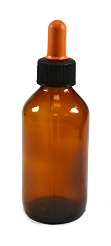 Eisco Labs 100ml Dropper Amber Soda Glass bottles with Screw Cap (100 Ml Dropper Bottle compare prices)
