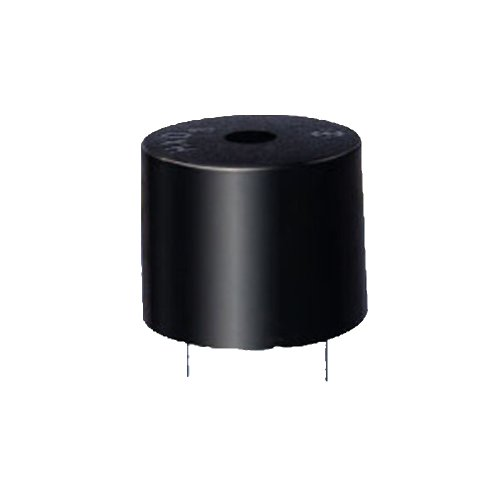 Generic Pack Of 100Pcs Active Buzzer 12V Size 23Mm * 9Mm Continous Beep Piezo Buzzer 12V 85Db 4500Hz Black Case
