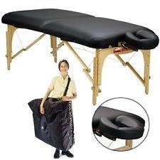 Stronglite Standard Plus Massage Table Package, Black