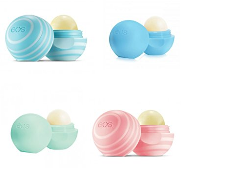 EOS Lip Balm (Pack of 4 (Winter Pack))
