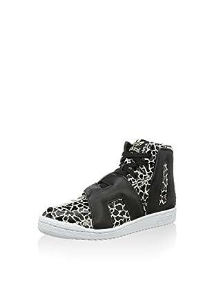 adidas Zapatillas abotinadas Js Letters Giraffe (Negro / Blanco)