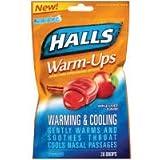 Halls Warm-Ups Apple Cider Drops, 20 ct
