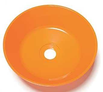 Guardian 100-009ORG-R Orange Abs Plastic Bowl