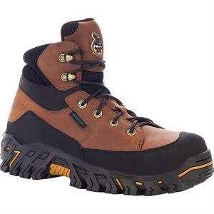 "Georgia Men's 6"" Ironton Steel Toe Waterproof Work Shoe-G6743 (M11.5)"