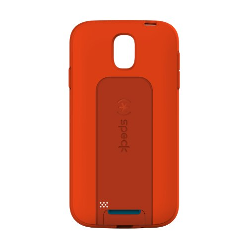 Speck Products SmartFlex View Samsung Galaxy S4 Case - Retail Packaging - Poppy Red