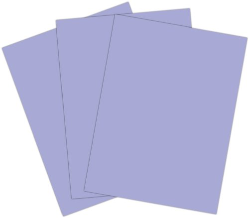 Roselle Vibrant Construction Paper, 50 count, 9 x12 Inches, Light Violet/Lilac (CON4291250) - 1