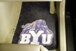 BYU Cougars 2 Piece Car Mats (2 Front)
